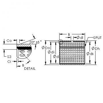 AST AST20 25060 plain bearings