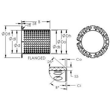 AST ASTT90 F7540 plain bearings