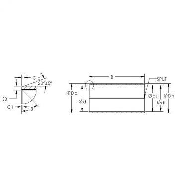 AST AST850BM 11550 plain bearings