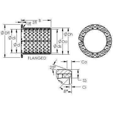 AST ASTB90 F10080 plain bearings