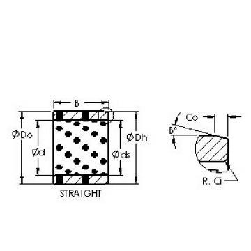 AST AST650 809660 plain bearings