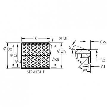 AST AST090 195100 plain bearings