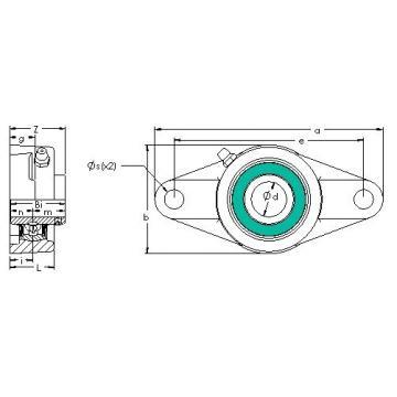 AST UCFL 201-8G5PL bearing units