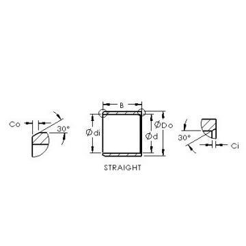 AST ASTEPB 6065-40 plain bearings