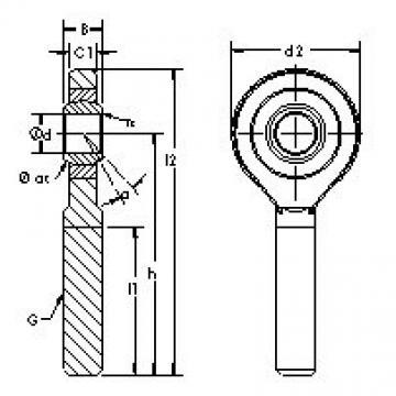 AST SAZP11S plain bearings