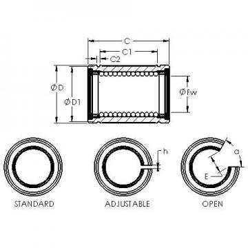 AST LBB 24 OP linear bearings