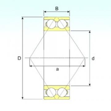 45 mm x 85 mm x 30,2 mm  CYSD 5209 angular contact ball bearings