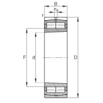 280 mm x 420 mm x 106 mm  FAG Z-565669.ZL-K-C5 cylindrical roller bearings