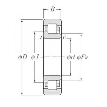30 mm x 72 mm x 27 mm  CYSD NJ2306E cylindrical roller bearings