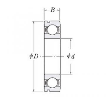 190 mm x 240 mm x 24 mm  CYSD 6838N deep groove ball bearings