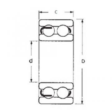 35 mm x 80 mm x 31 mm  FBJ 4307 deep groove ball bearings