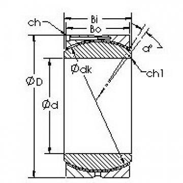 AST GEH480HC plain bearings