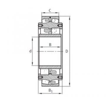 300 mm x 780 mm x 280 mm  FAG Z-531177.04.DRGL spherical roller bearings