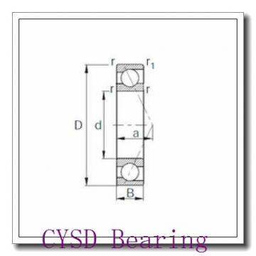 20 mm x 32 mm x 7 mm  CYSD 6804-2RZ deep groove ball bearings