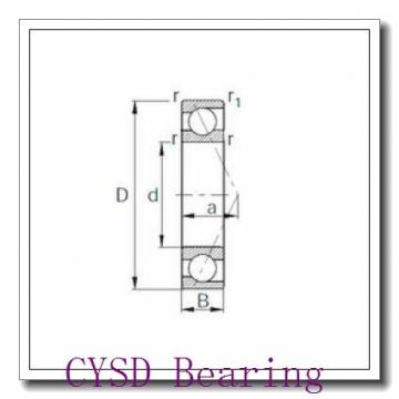 35 mm x 55 mm x 10 mm  CYSD 6907N deep groove ball bearings