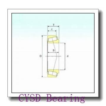 40 mm x 80 mm x 32 mm  CYSD 33208 tapered roller bearings