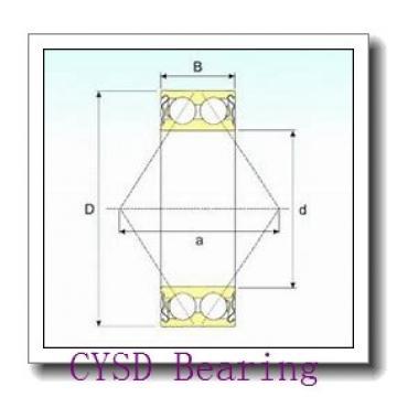 65 mm x 140 mm x 2333 mm  CYSD QJF313 angular contact ball bearings